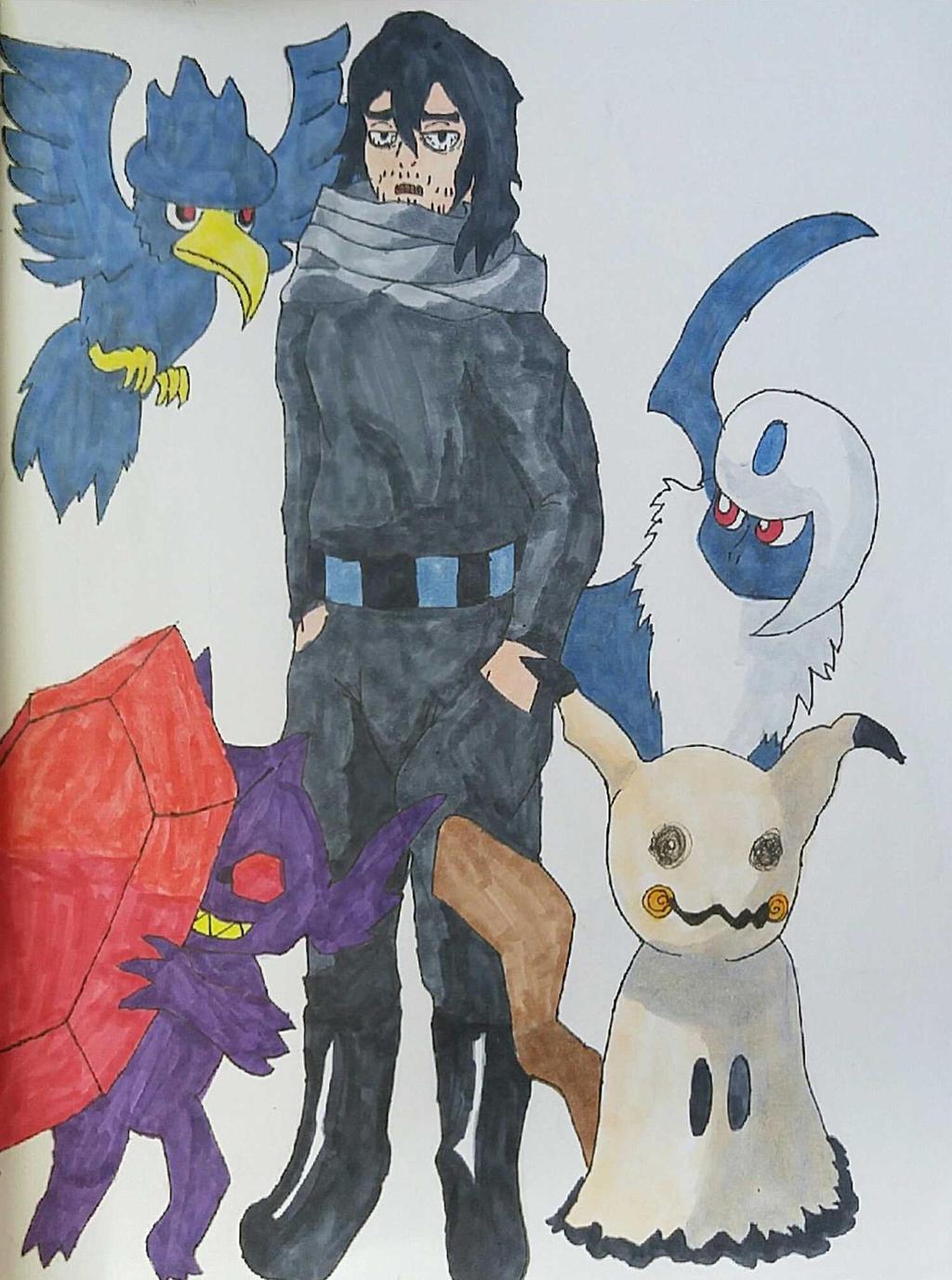 Pokemon Trainer Aizawa by Ncid