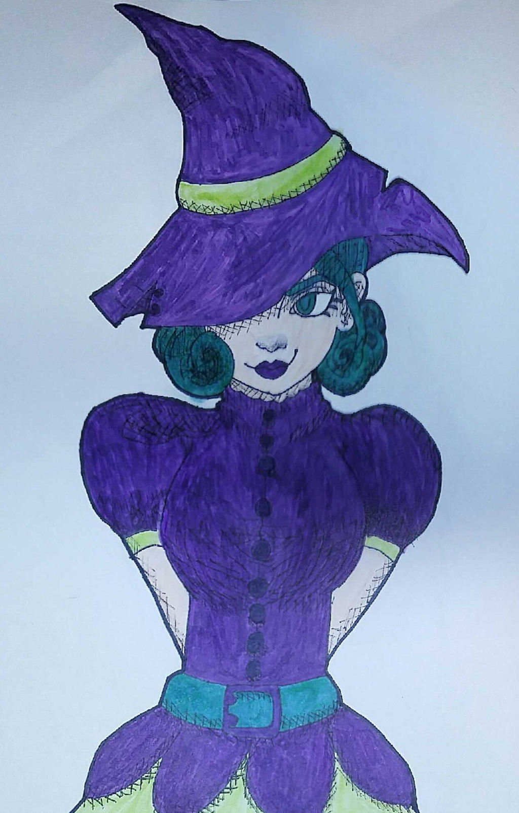 Witch by Ncid