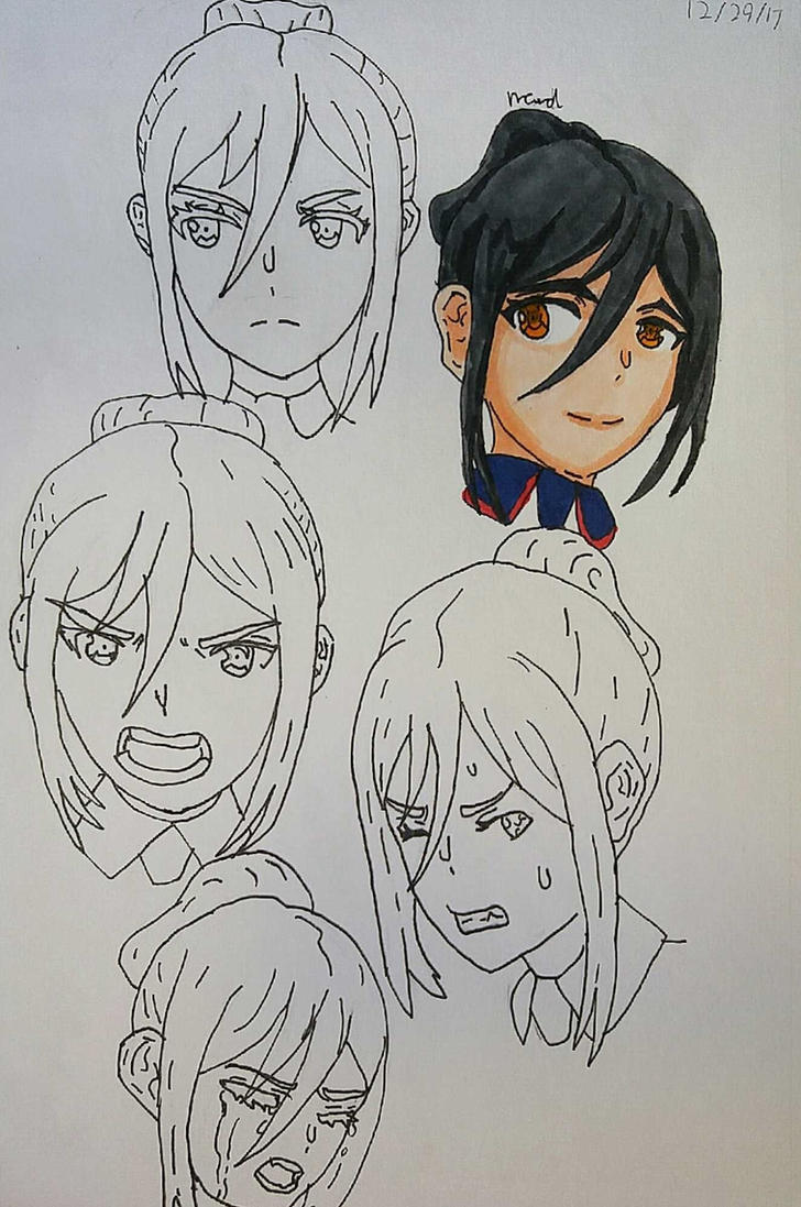 Morag faces by Ncid