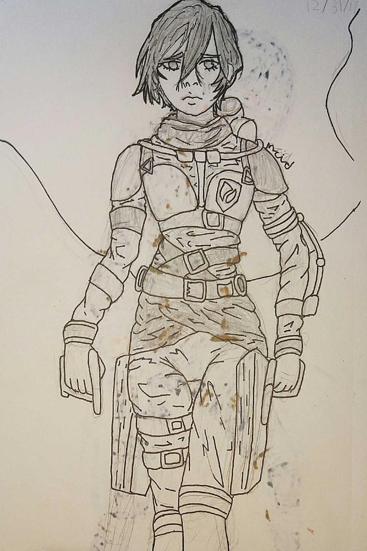 Badass Mikasa by Ncid