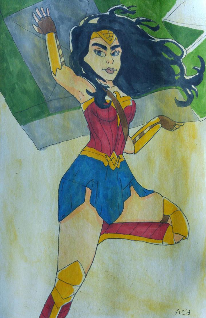 Wonder Woman by Ncid