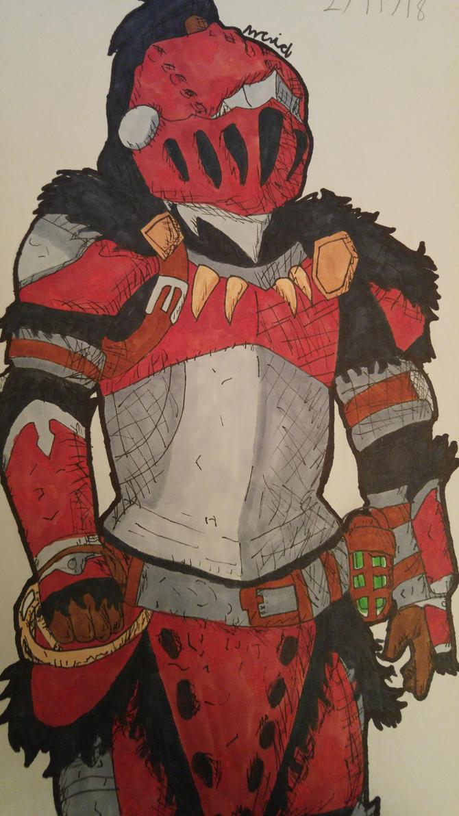 Anjanath Armor by Ncid