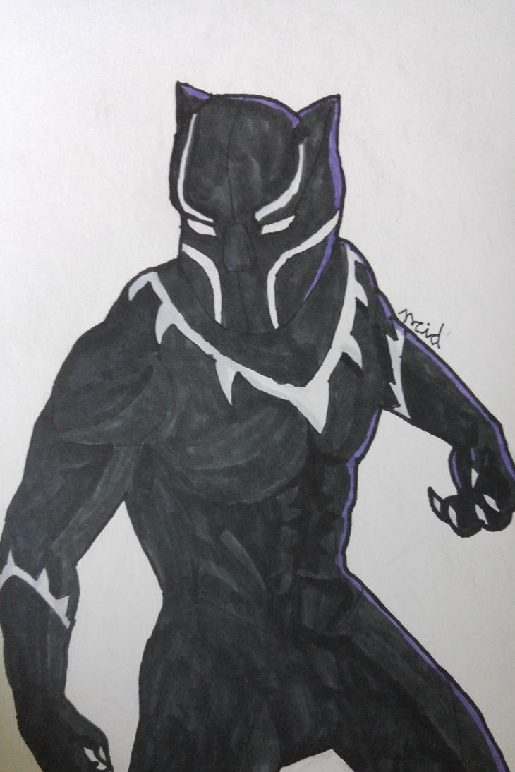 Black Panther by Ncid
