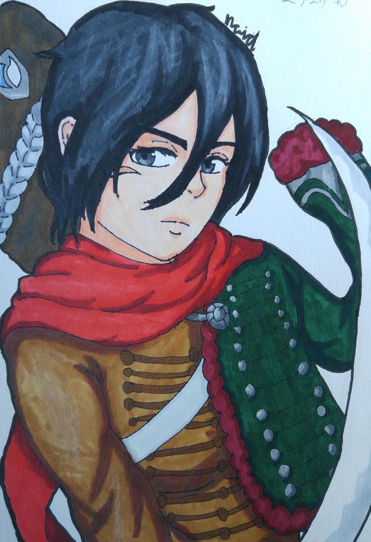 Mikasa (Hussar) by Ncid