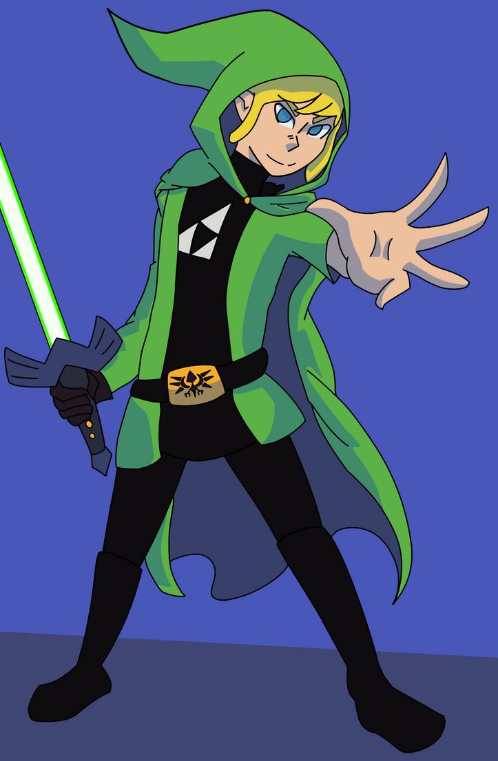 Link Skywalker by Ncid