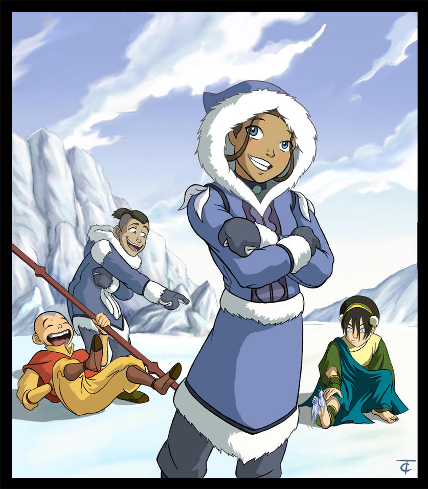 The Last Airbender All Avatars: Avatar: The Last Airbender By CamT On DeviantArt