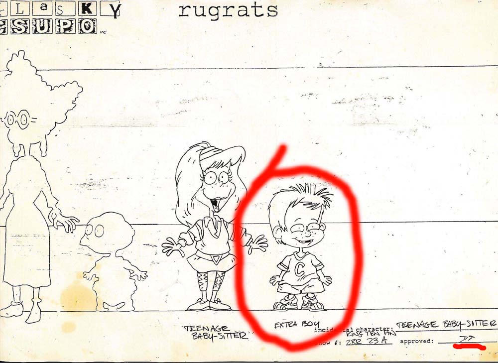 My dad put me in Rugrats by CamT