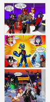 Teen Titans Halloween Bash by CamT