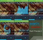 Rainmeter: MegaPlayer I - Tech Preview 2