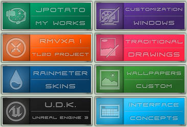 Icons: My new Gallery Icons by JpotatoTL2D