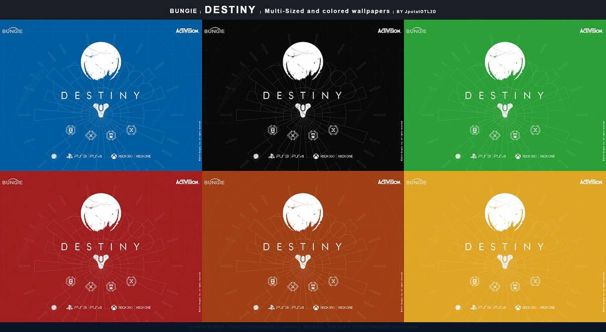 Release: Flat Wallpaper Destiny Bungie v.I