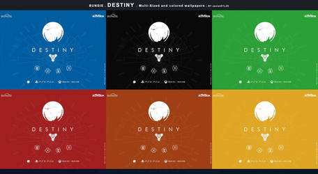 Release: Flat Wallpaper Destiny Bungie v.I by JpotatoTL2D