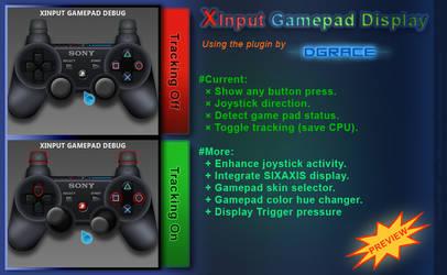 Preview: Rainmeter: Xinput gamepad (WIP v0.3) by JpotatoTL2D