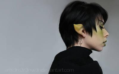 Spock - Cosplay (Female) by m3r3nw3n
