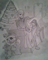 Little Skeleton's Christmas by Luniria