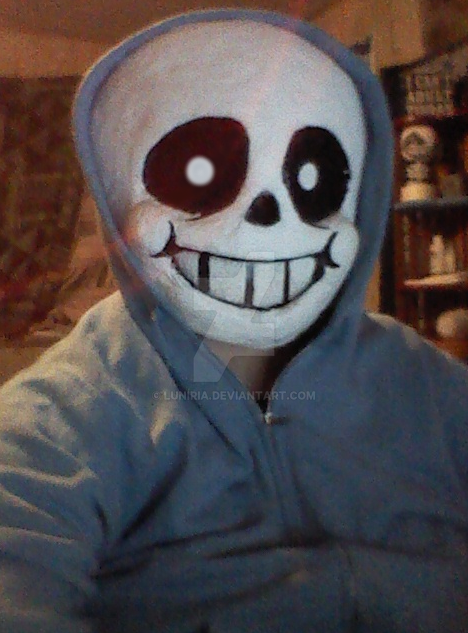 Sans Cosplay (WIP) by Luniria