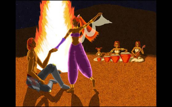 Dance of the Gerudo by TheGreatAhtnamas
