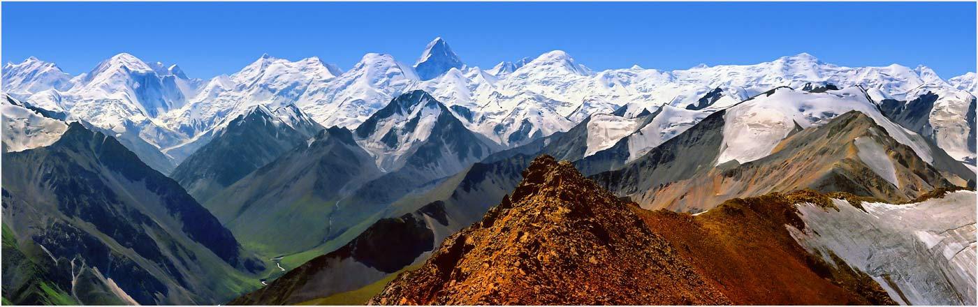 Kazakhstan. The Central Tien Shan. Khan Tengri
