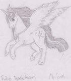 Alicorn twiligt by Kamixazia