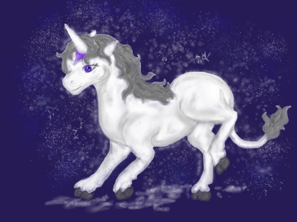 The last unicorn fanart by Kamixazia