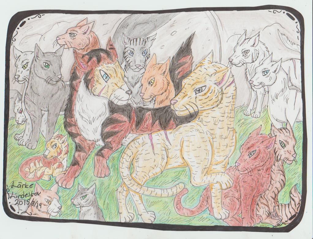 Warrior cats os's: brenchclan by Kamixazia
