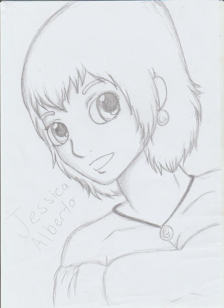 Jessica Alberto with short hair by Kamixazia