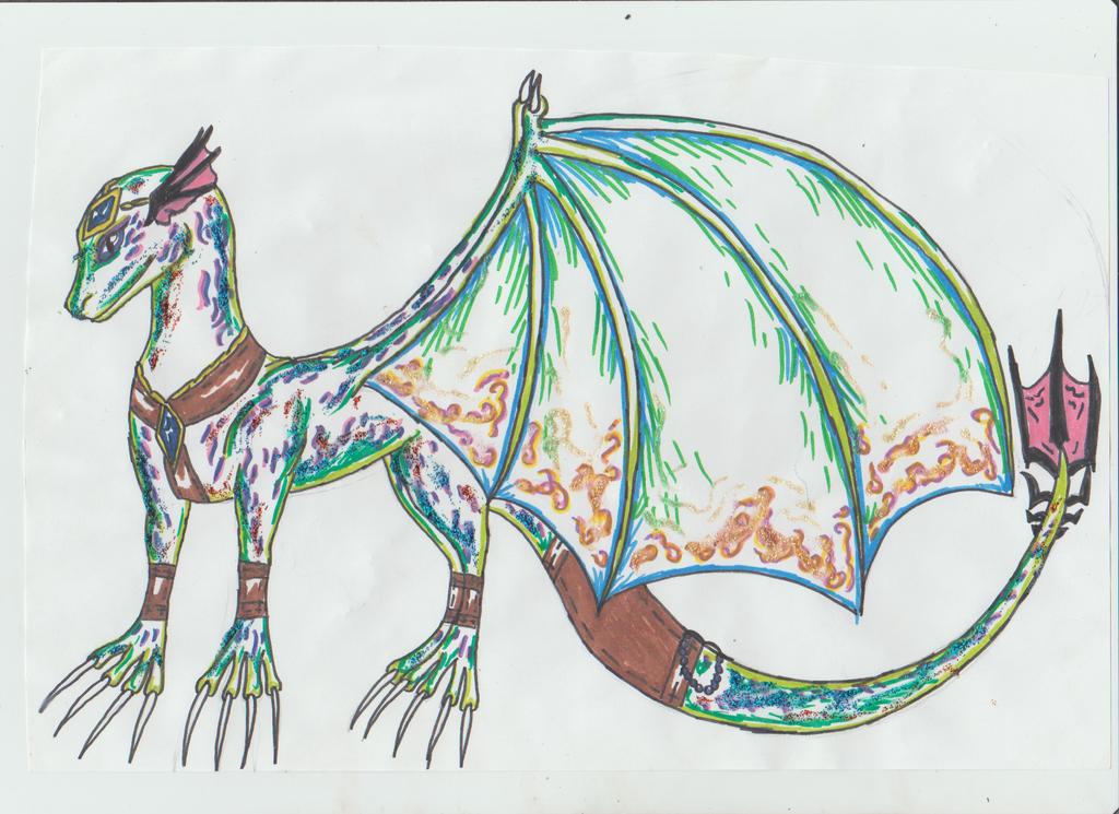 Kamumiaru dragon by Kamixazia