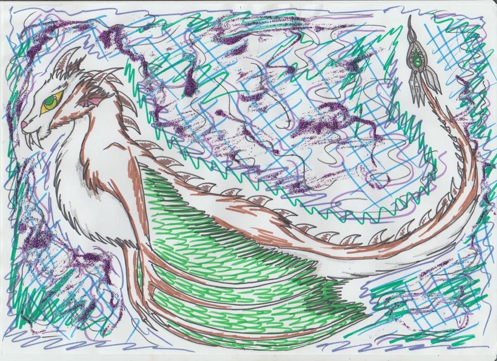 Amaku creature by Kamixazia