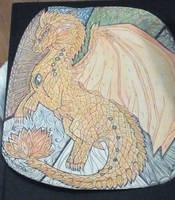 Greater gurdian dragon by Kamixazia