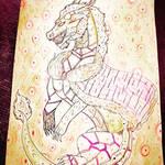 Cursed dragon commander Atsuko by Kamixazia