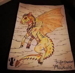 dragon gurdian by Kamixazia