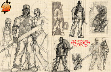 Juda Sketches 2013