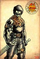 Juda Fist Commando Amaru Inks. by MarkCDudley
