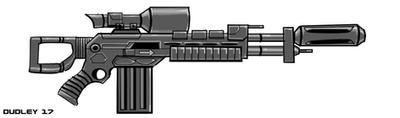 Dragonov Sniper Rifle by MarkCDudley