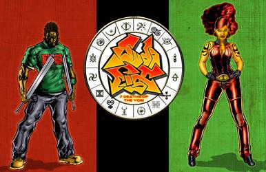 Juda Fist Wallpaper by MarkCDudley