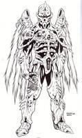 Winged Terror Bioarmor by MarkCDudley