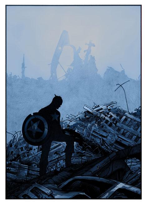 Captain America by Emmanuel-B