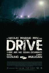 Drive poster - V1 by Emmanuel-B