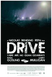 Drive poster - V2 by Emmanuel-B