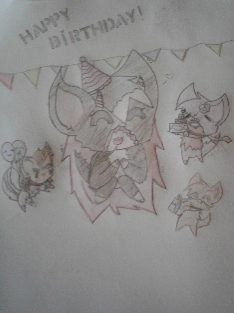 Happy birthday by Nanacat36