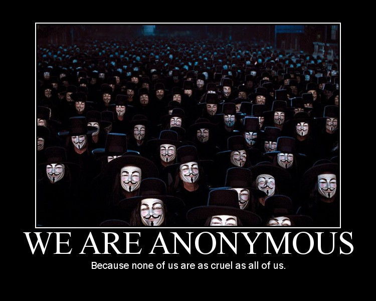 We are anonymous by AnonRotten
