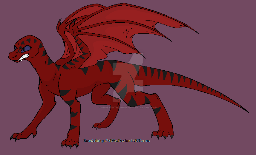 angry dragon by ange3linth3shadows on deviantart