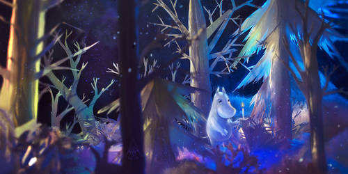 Moominland Midwinter by a-hour