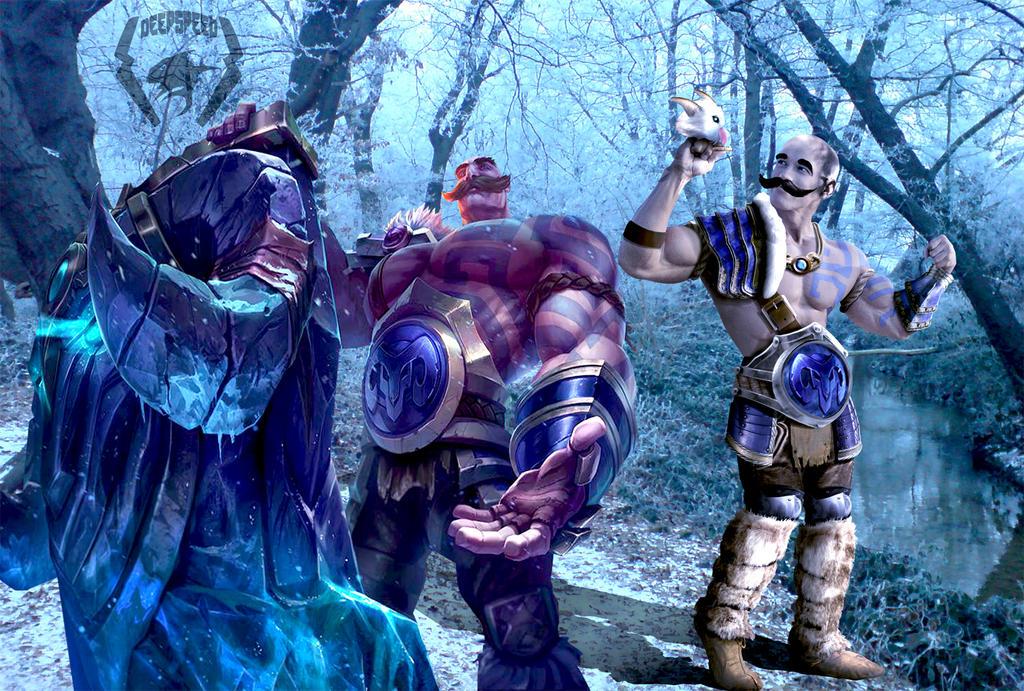Braum vs Arnold LoL 3 by DeepSpeeD on DeviantArt