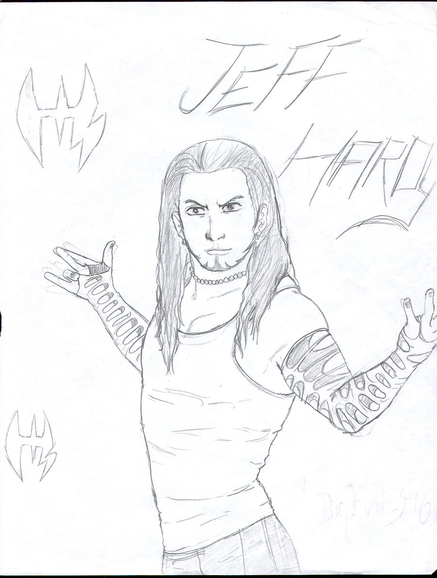 jeff hardy coloring pages free - photo#11