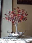 Weirwood fantasy bonsai tree