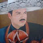 14.-Retrato de Pepe Aguilar. by diegolopezmata