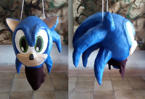 Sonic, cardboard work