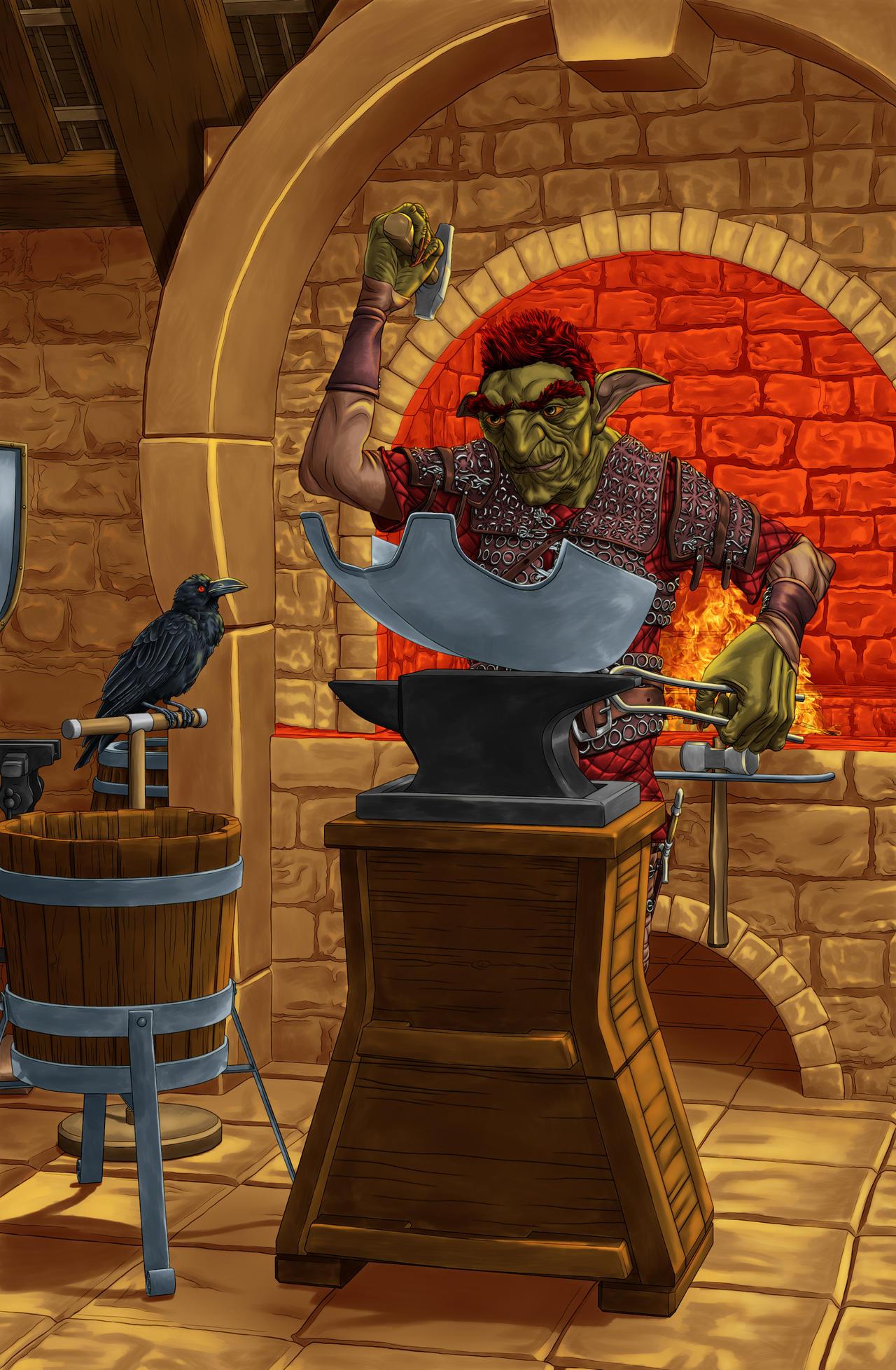 Goblin Armorer Artificer