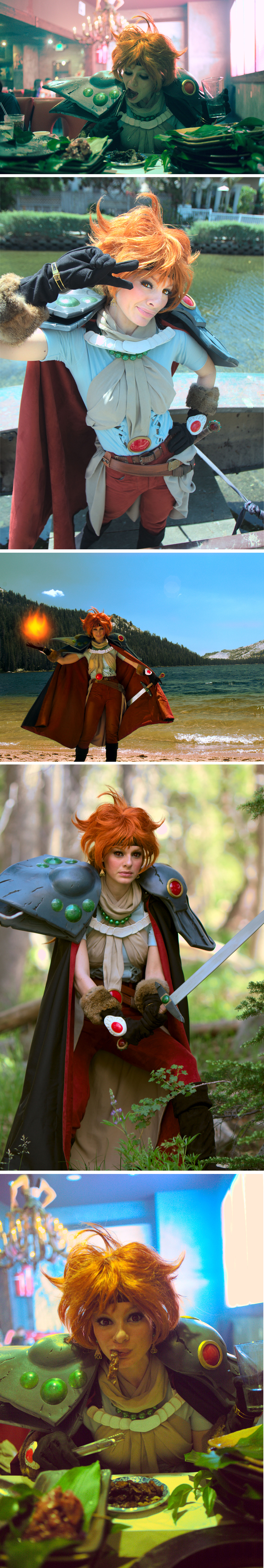 LINA INVERSE Slayers Artbook Cosplay by neoqueenhoneybee